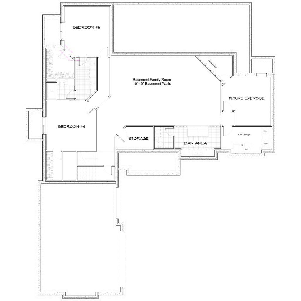 Aspen Floor Plan Foundation