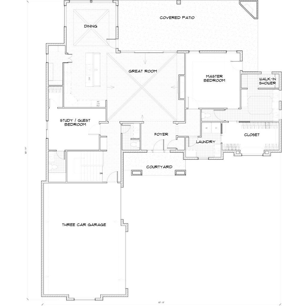 Aspen Floor Plan Main Floor