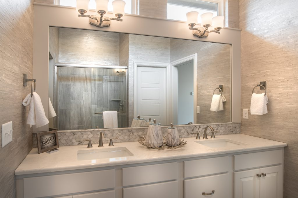 Mandalay Custom New Construction Bathroom in Wichita
