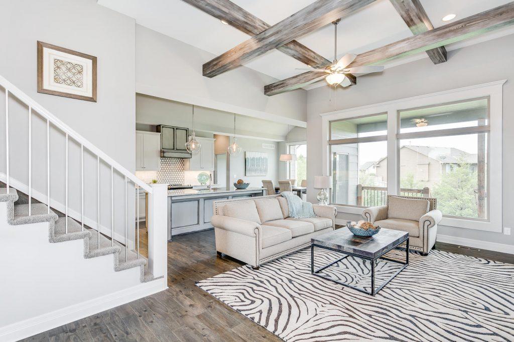 Biltmore Bonus Floor Plan Living Room and Kitchen