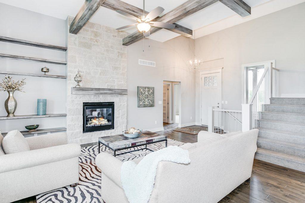 Biltmore Bonus Floor Plan Living Room and Entry
