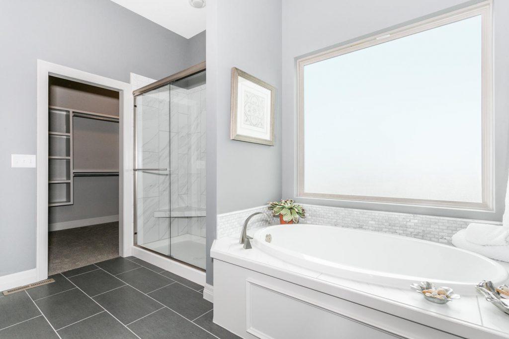 Biltmore Bonus Floor Plan Master Bathroom and Closet