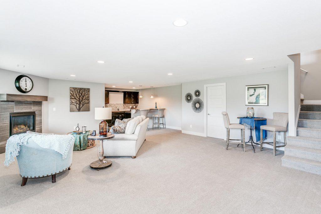 Biltmore Bonus Floor Plan Family Room Wet Bar