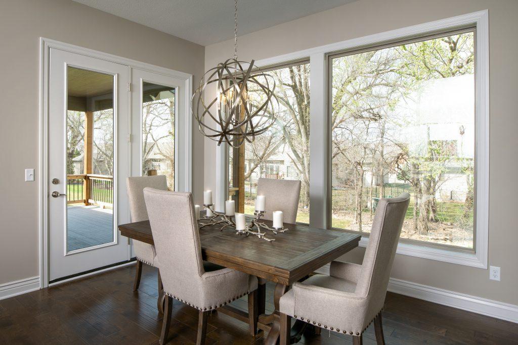 Graystone Custom New Construction Dining Room in Wichita
