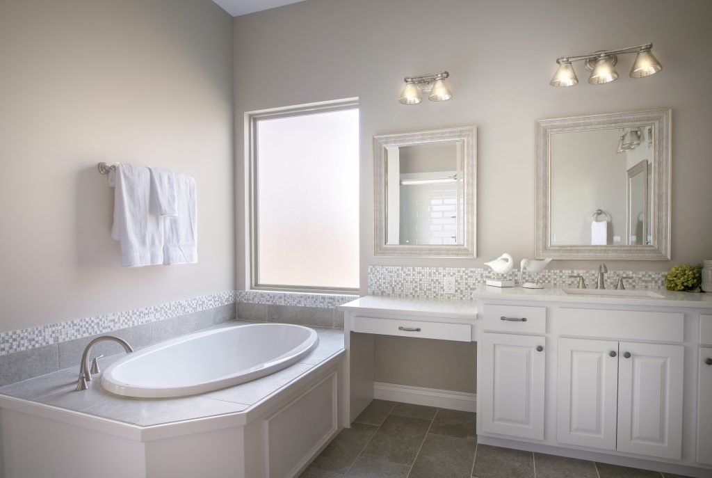 Graystone Custom New Construction Bathroom in Wichita
