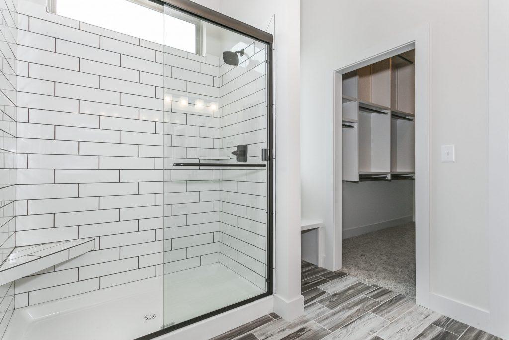 Custom New Construction Bathroom in Wichita