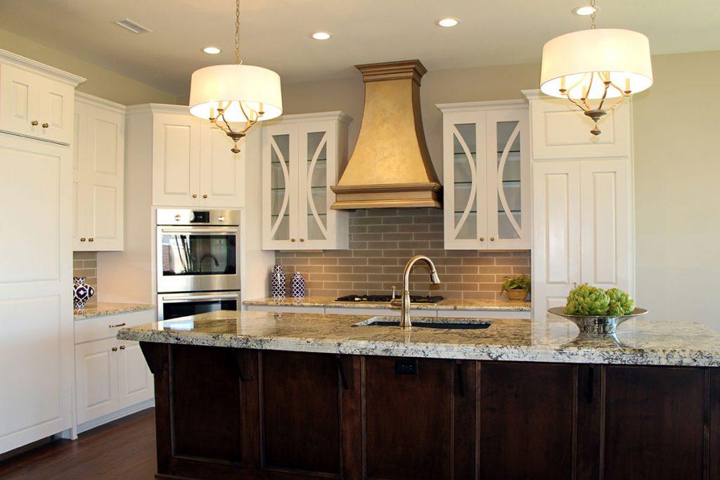 Bellevue Custom New Construction Kitchen in Wichita