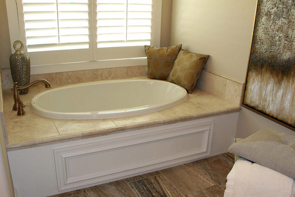Bellevue Custom New Construction Bathroom in Wichita