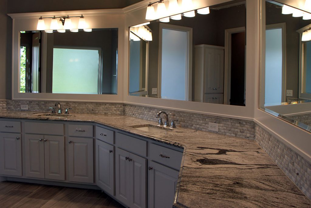 Berkley Custom New Construction Bathroom in Wichita