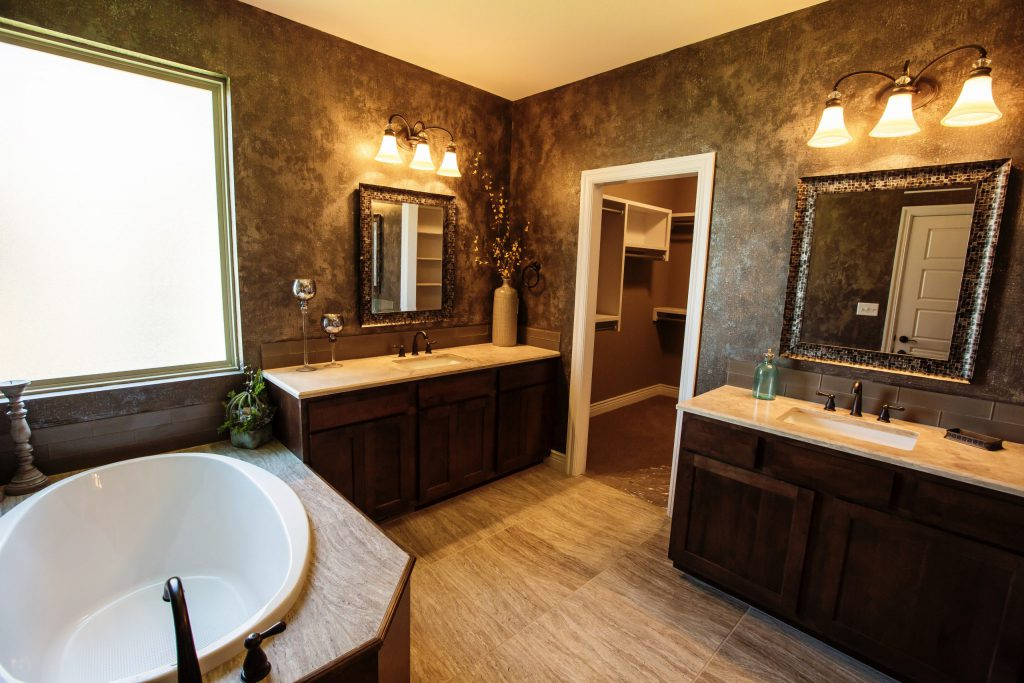 Brighton 1852 Floor Plan Master Bathroom