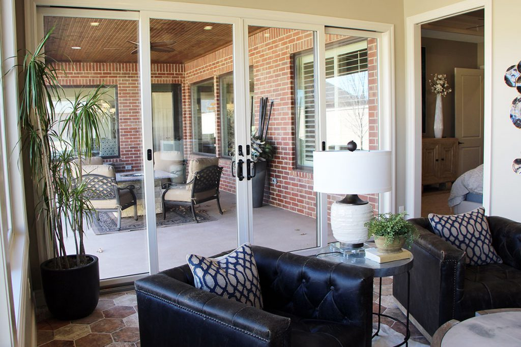 Sedona Custom New Construction Outdoor Living in Wichita