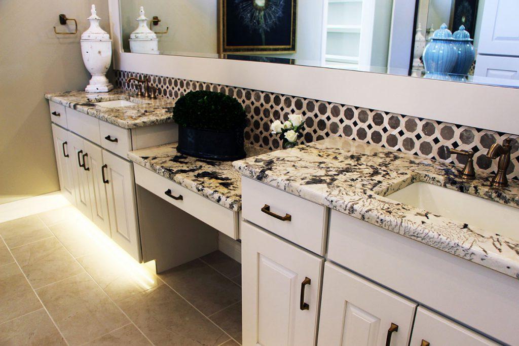 Sedona Custom New Construction Bathroom in Wichita