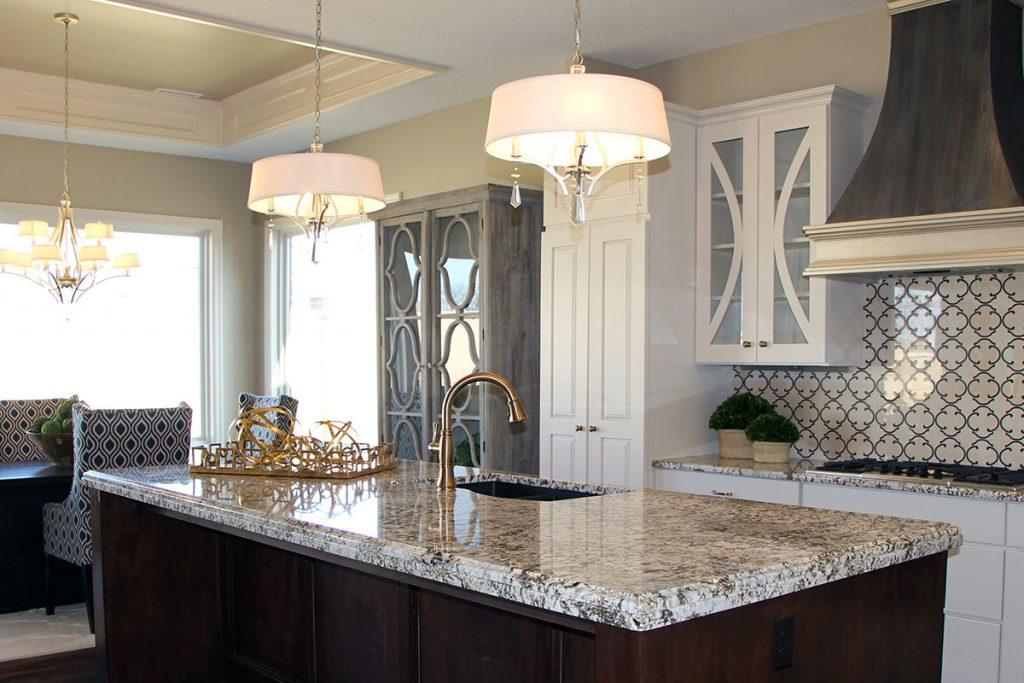 Sedona Custom New Construction Kitchen in Wichita