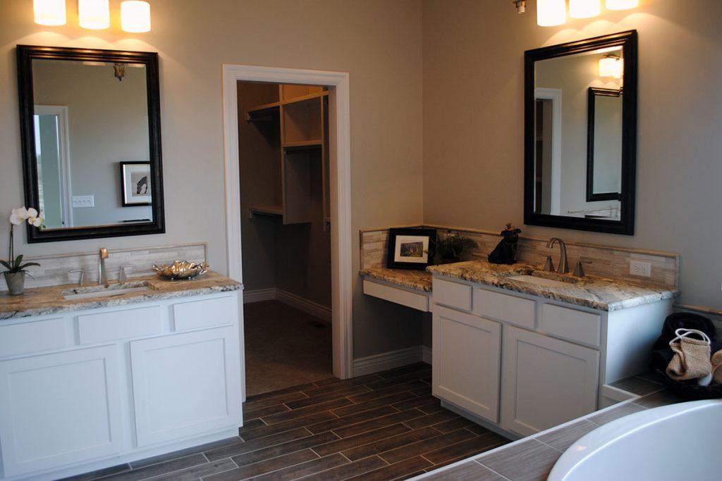 Braewick Custom New Construction Bathroom in Wichita