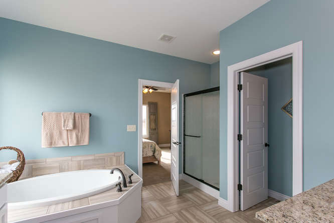 Brighton Custom New Construction Bathroom in Wichita