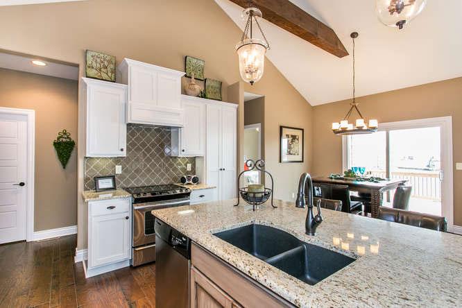 Brighton Custom New Construction Kitchen in Wichita