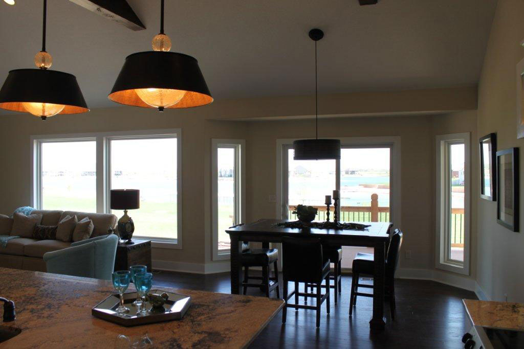 Brighton Custom New Construction Dining Room in Wichita