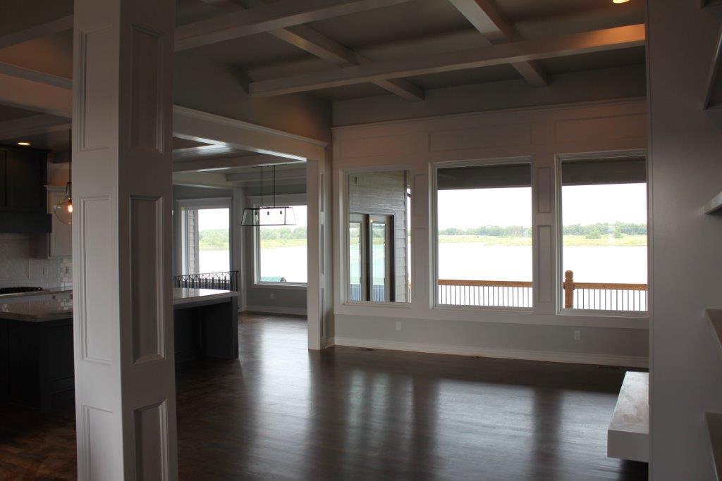 Chadwick Custom New Construction Living Room in Wichita