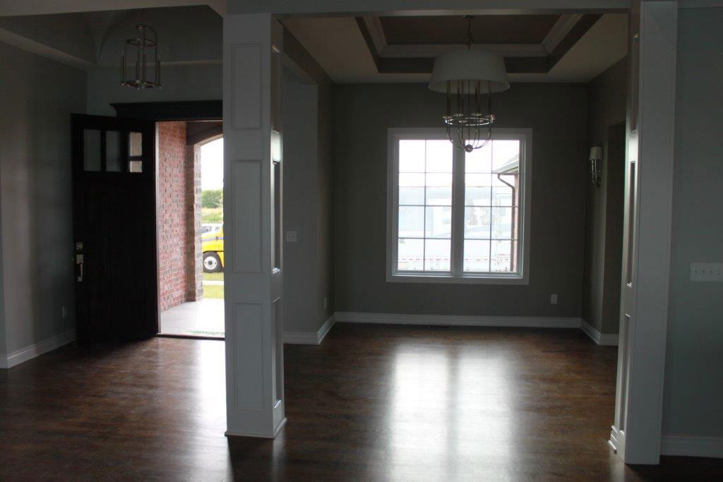 Chadwick Custom New Construction Dining Room in Wichita