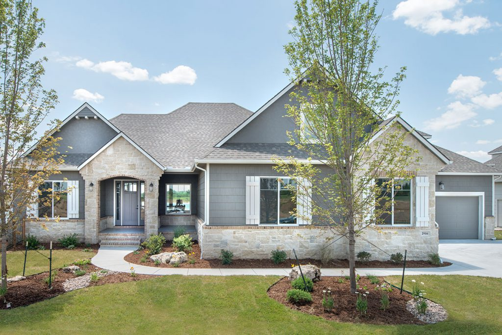 Chesapeake Custom Home in Wichita
