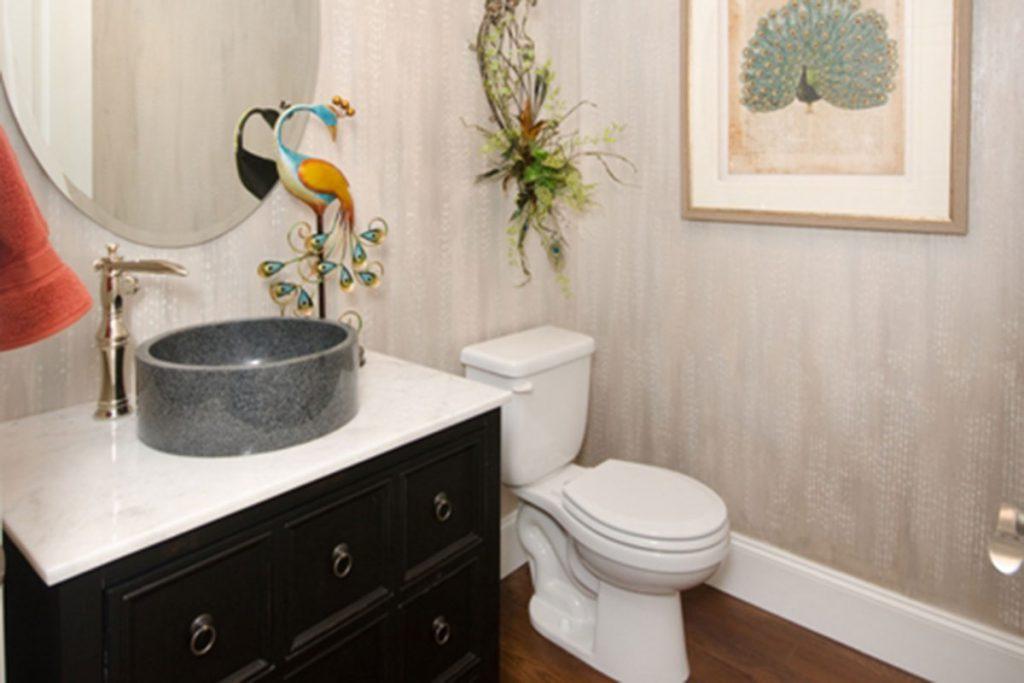 Cordillera Custom New Construction Bathroom in Wichita