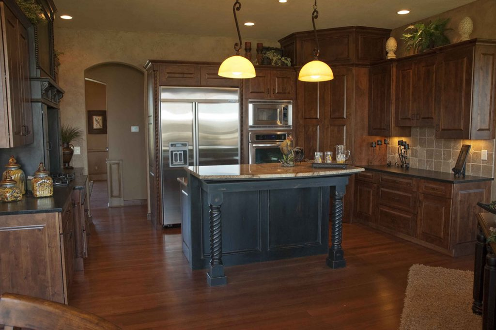Davenport Custom New Construction Kitchen in Wichita