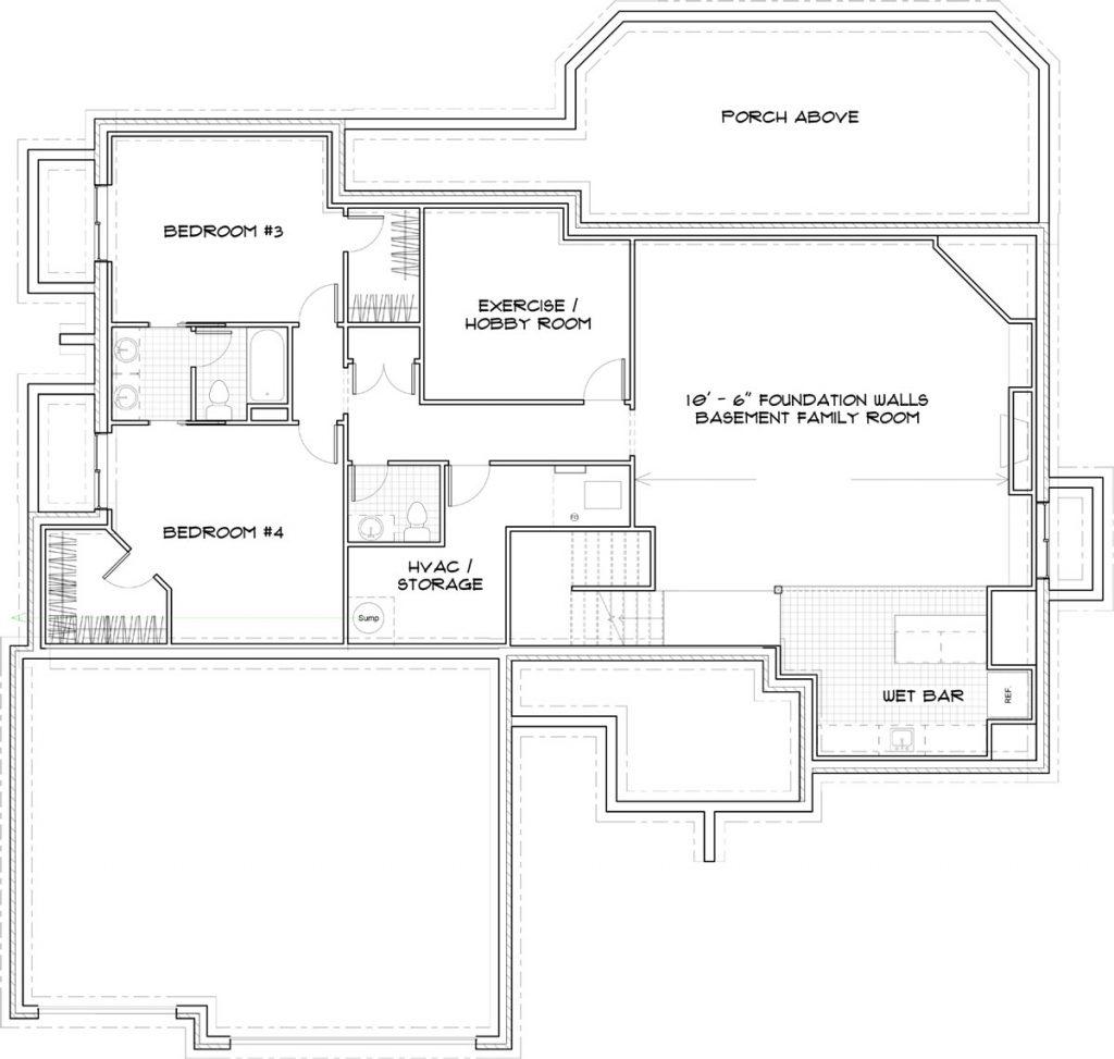 Bella Vista Foundation Wichita Custom Floor Plan