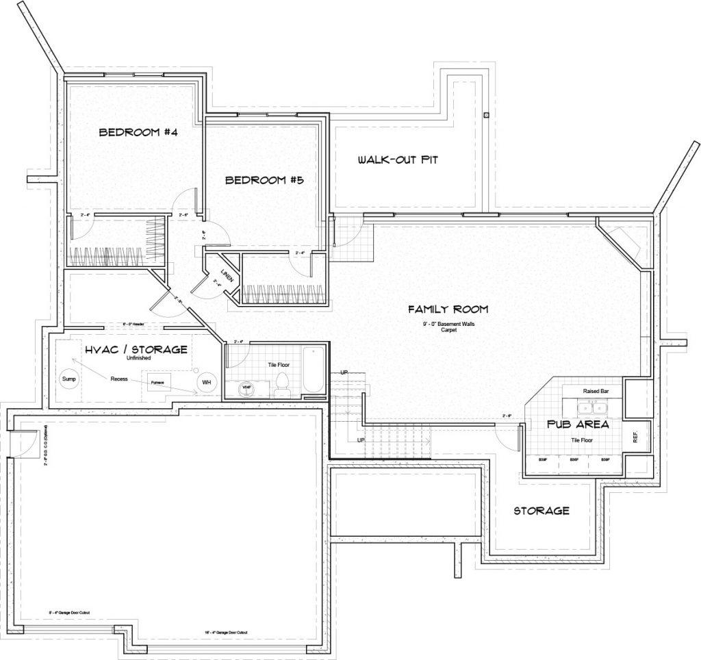 Biltmore Bonus Floor Plan Foundation