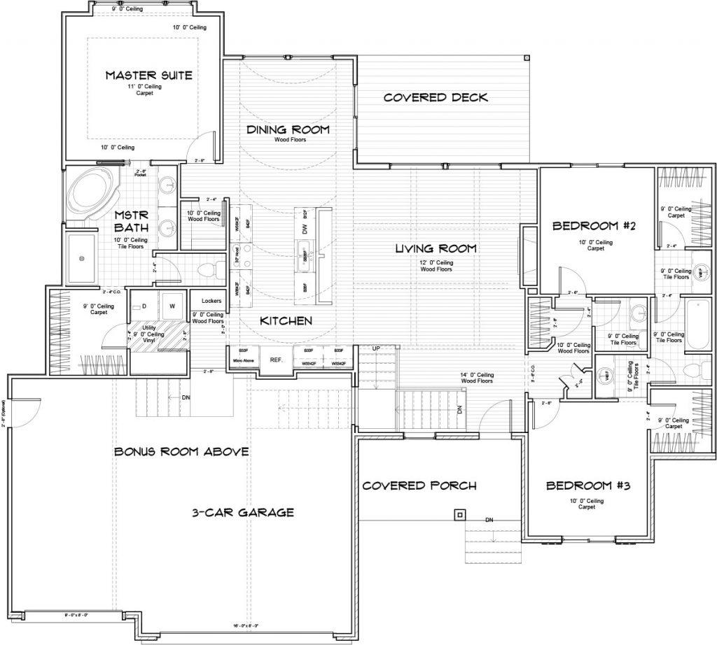 Biltmore Bonus Floor Plan Main Floor
