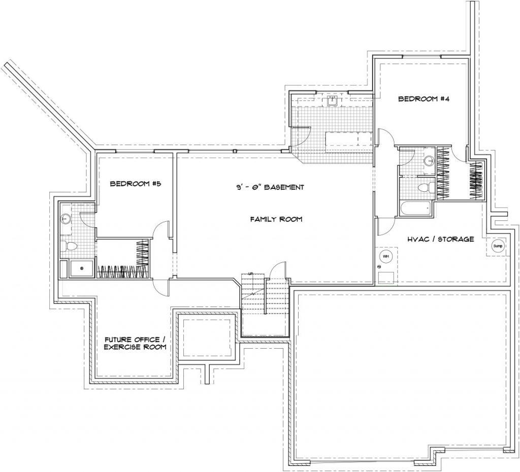 Catalina Custom Home Floor Plan in Wichita