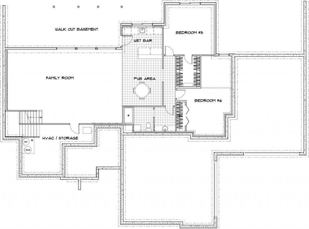 Chesapeake Custom Home Floor Plan in Wichita