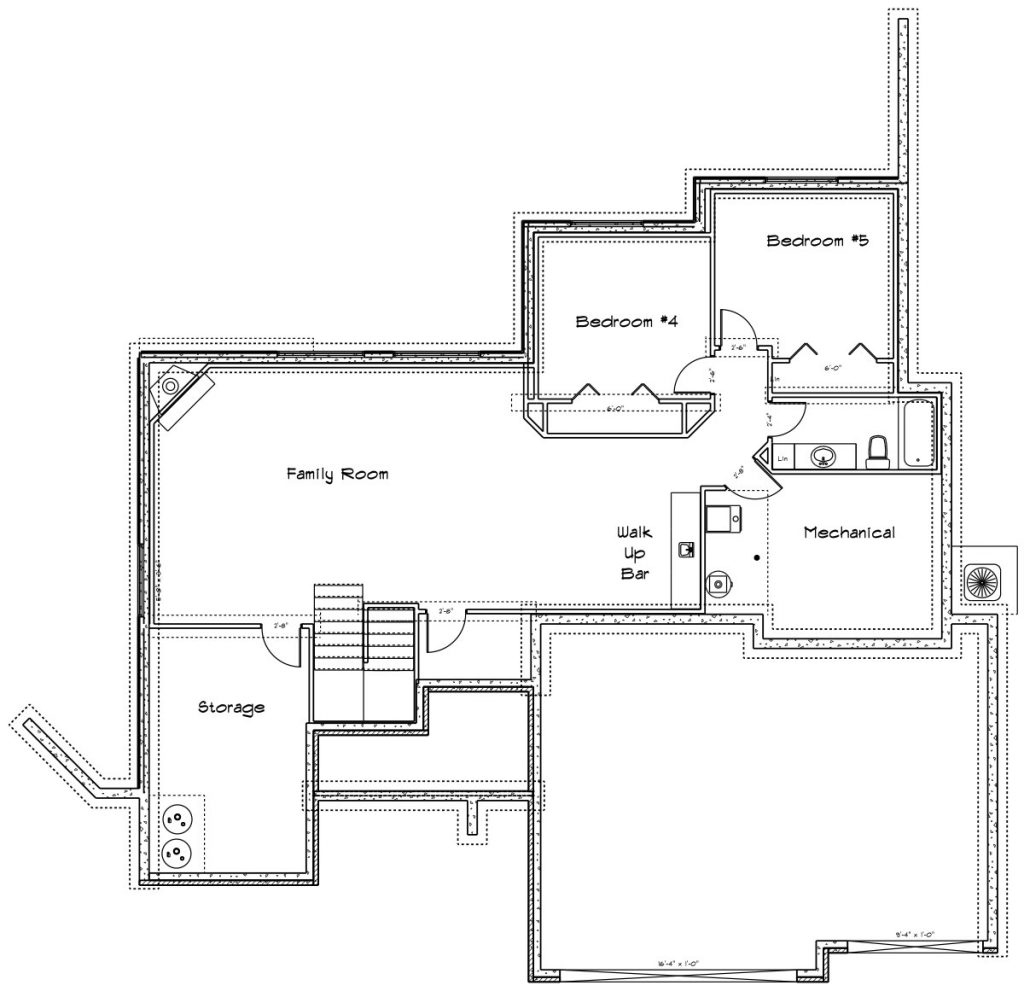 Cordona Custom Home Floor Plan in Wichita