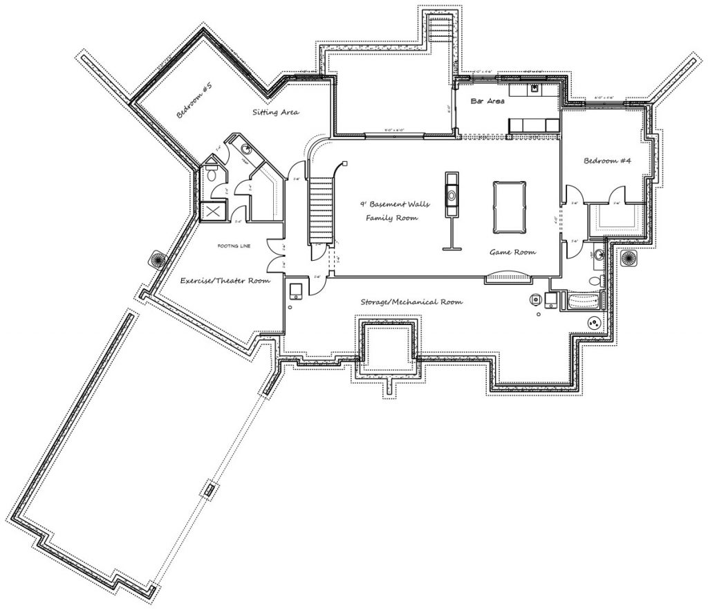 Davenport Floor Plan Foundation
