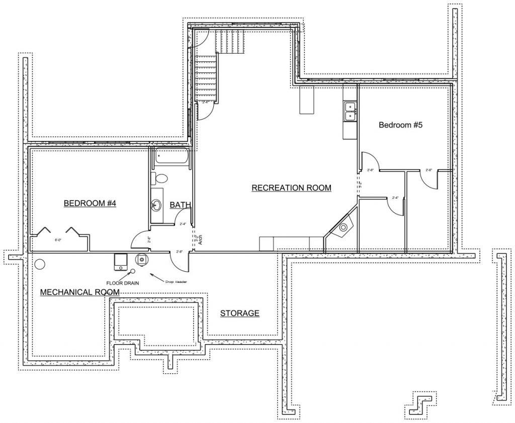 Rockshire Custom Home Floor Plan in Wichita