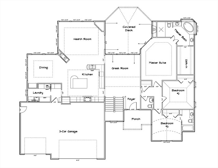 Stone Chase Floor Plan Main Floor