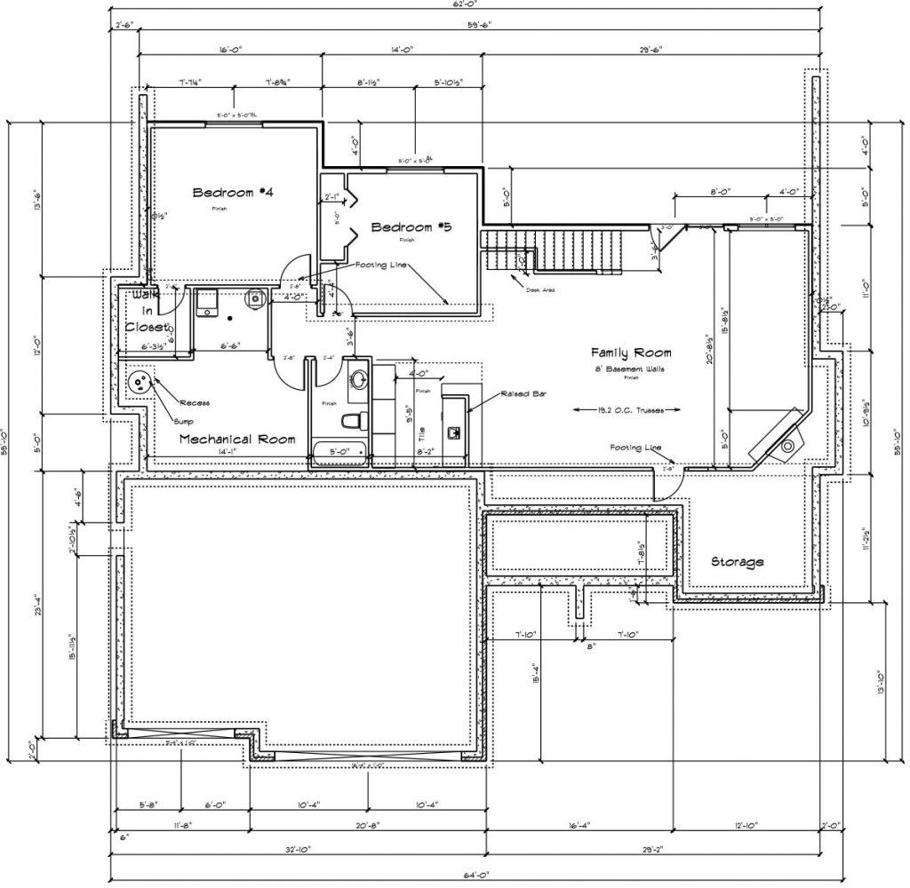 Winthrop Custom Home Floor Plan in Wichita