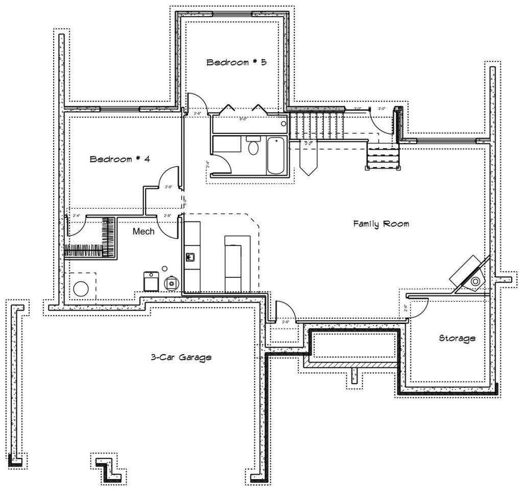 Yorkshire Custom Home Floor Plan in Wichita