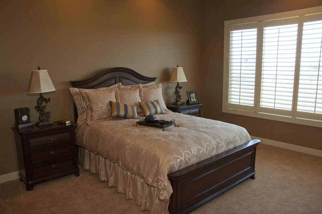 Nantucket Custom New Construction Bedroom in Wichita