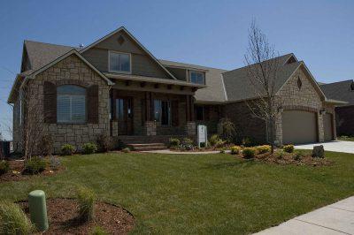Nantucket Custom Home in Wichita