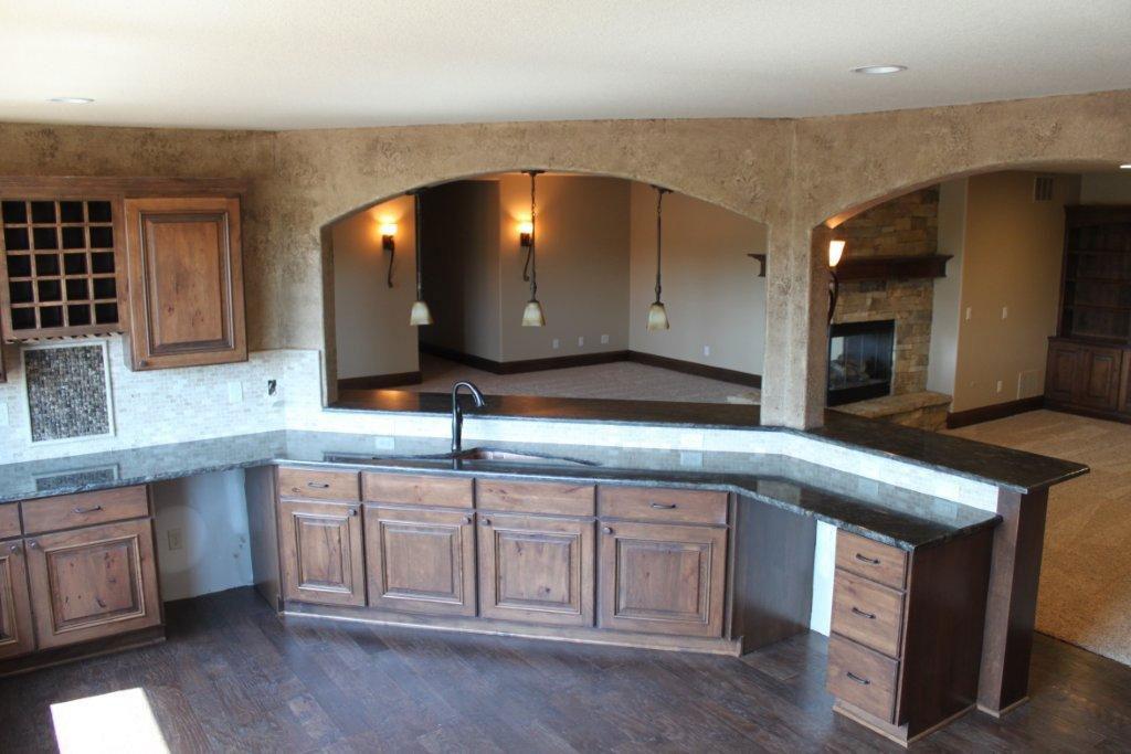 Wichita New Home Vienna Kitchen