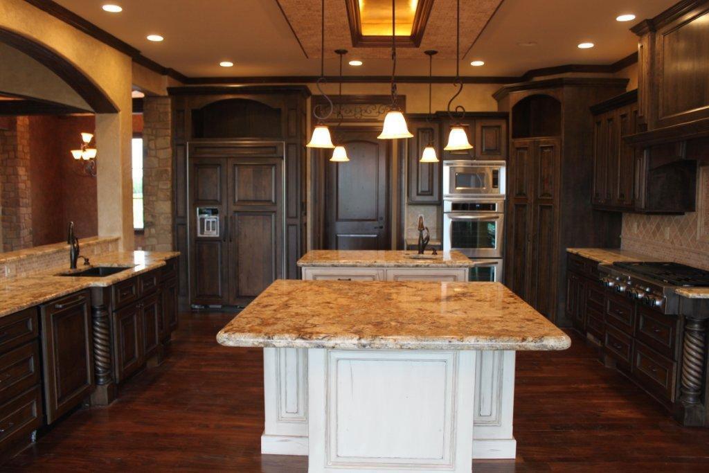 Vienna Custom New Construction Kitchen in Wichita