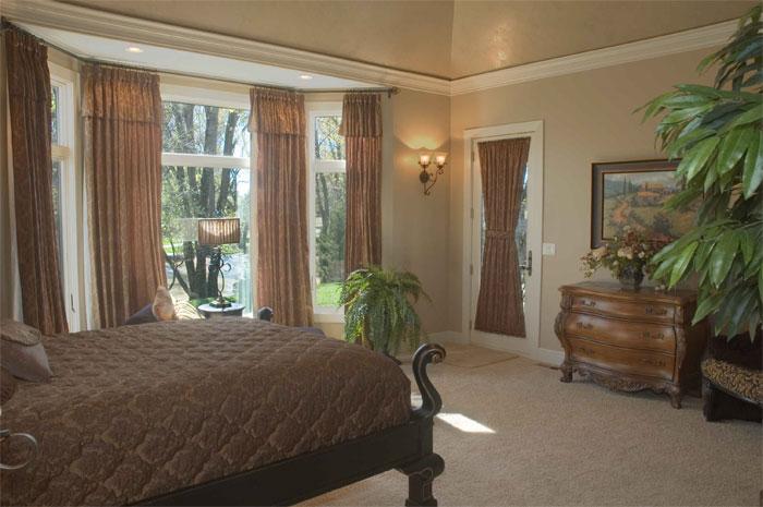 Villa Custom New Construction Bedroom in Wichita