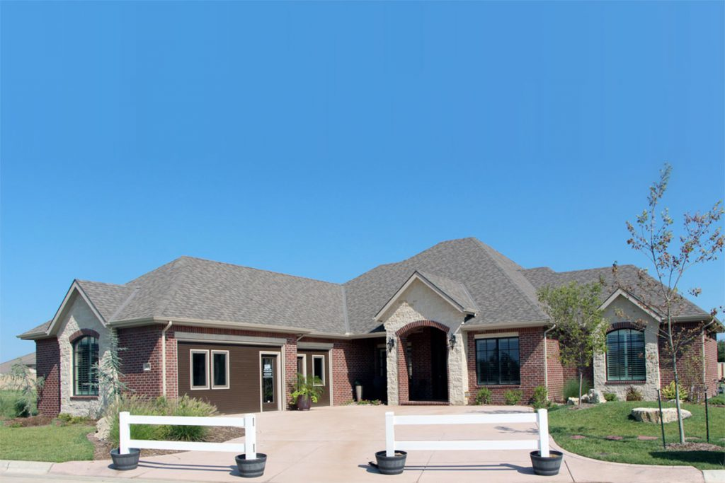 Bellevue Custom Home in Wichita