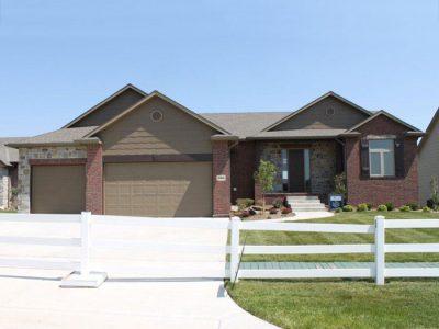 Brookshire Custom Home in Wichita