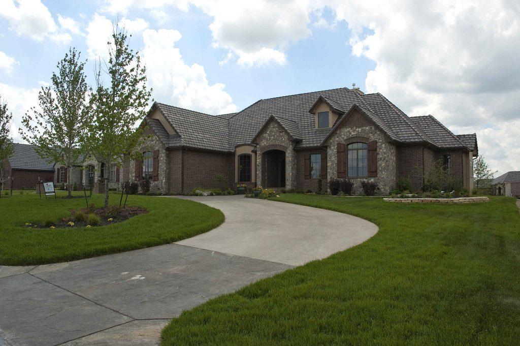 Davenport Custom Home in Wichita