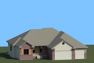 Wichita New Home Floorplan Hampton