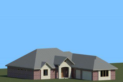Wichita New Home Sedona 3D Rendering