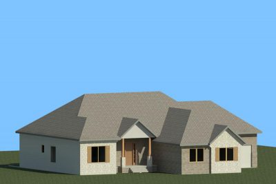 Wichita New Home Valencia 3D Rendering