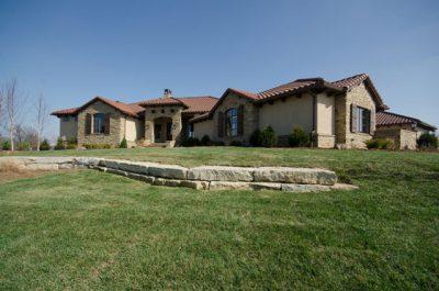 Villa Custom Home in Wichita