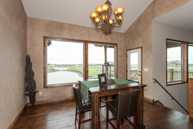Winthrop Custom New Construction Dining Room in Wichita